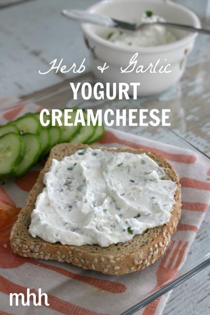 Herb & Garlic Yogurt Cream Cheese
