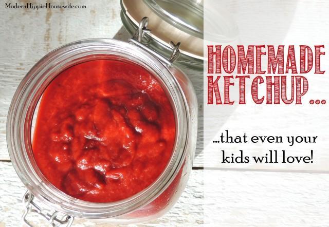 Homemade Fermetned Ketchup