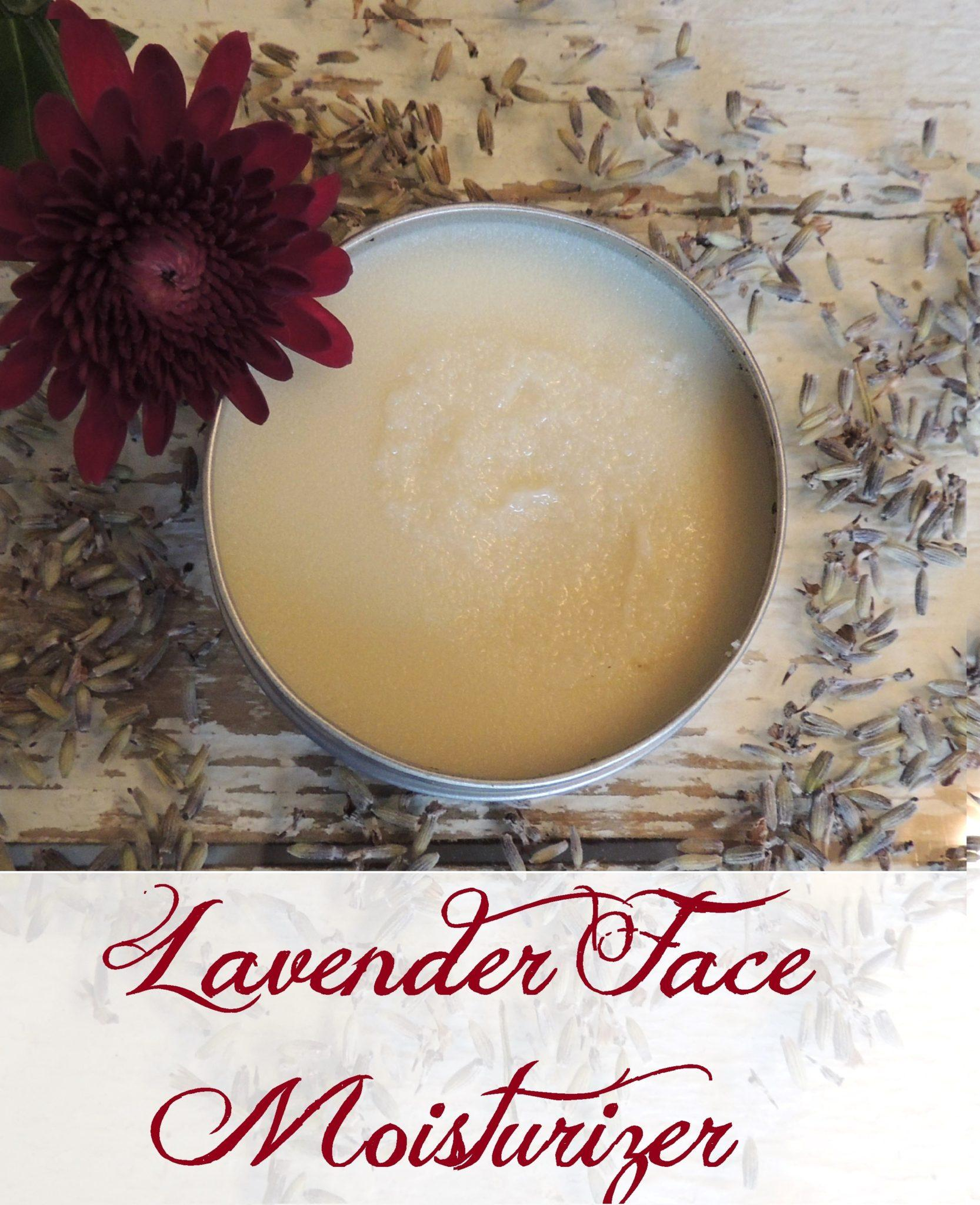 today i m excited to share my lavender face moisturizer with you