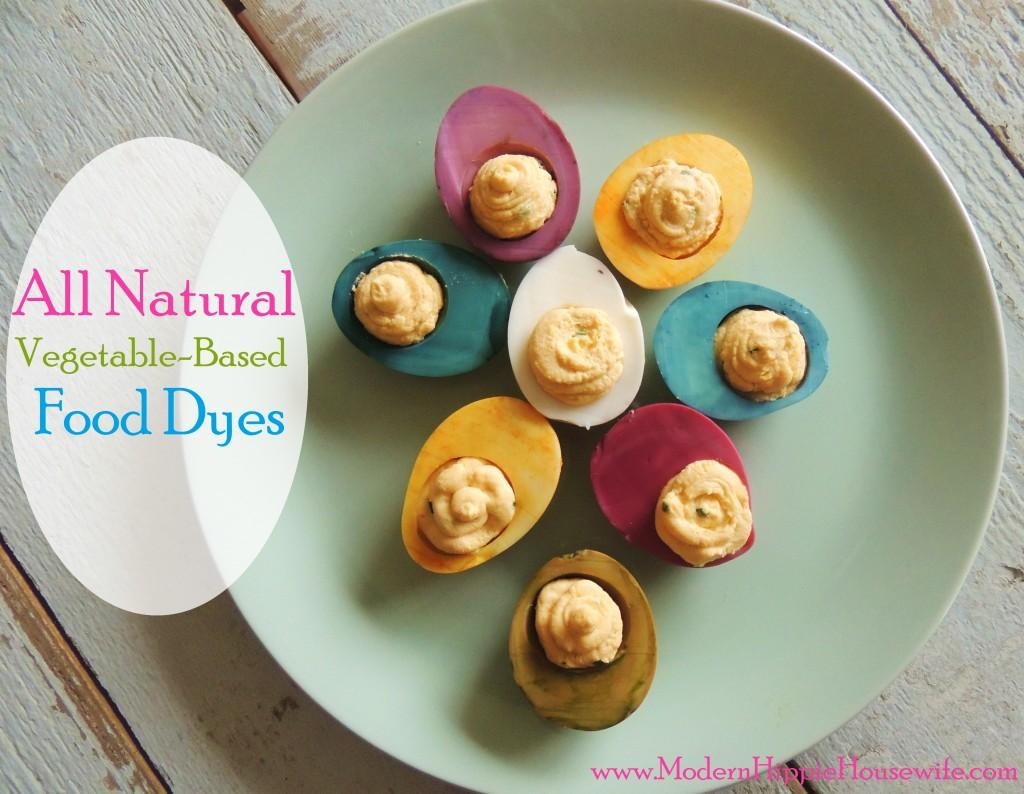 All-Natural Food Dyes