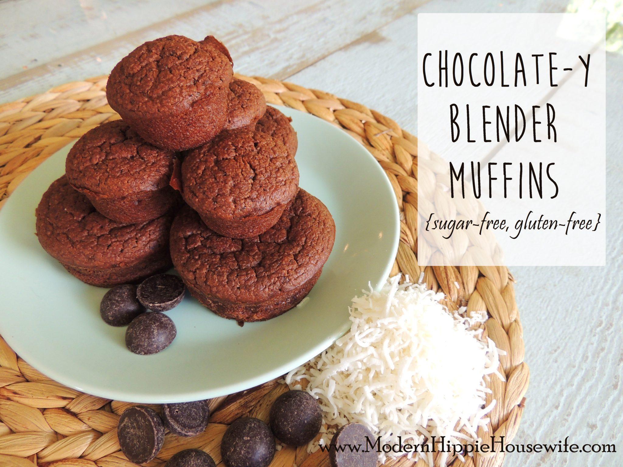 Chocolate-y Blender Muffins