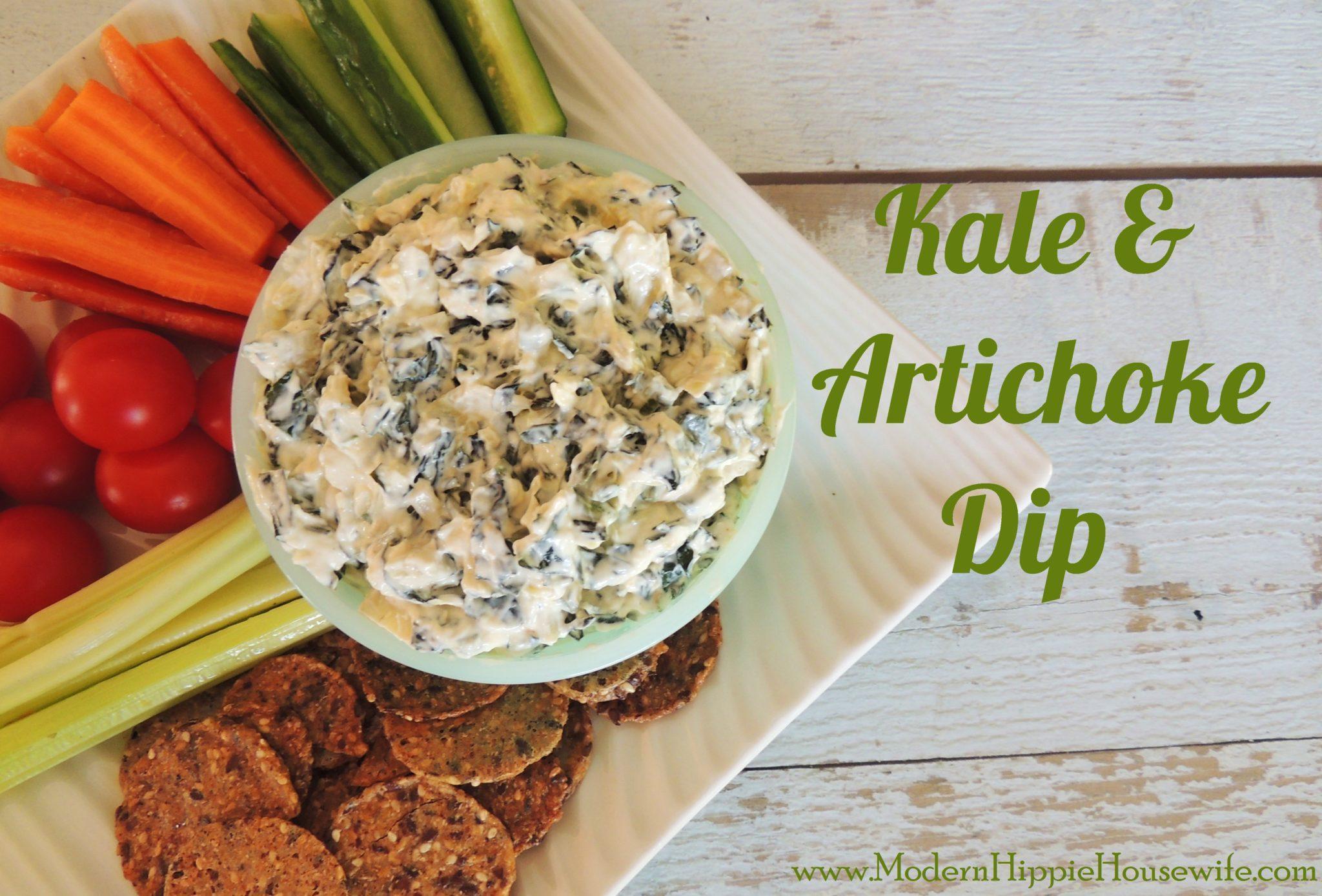 Kale & Artichoke Dip