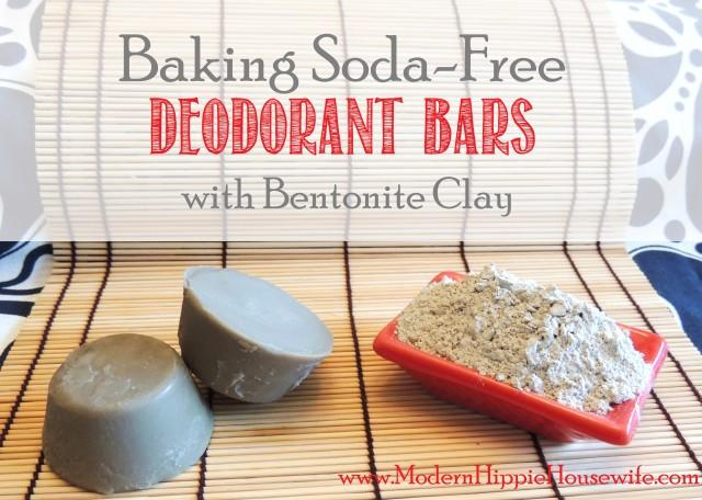 Baking Soda-Free Deodorant Bars