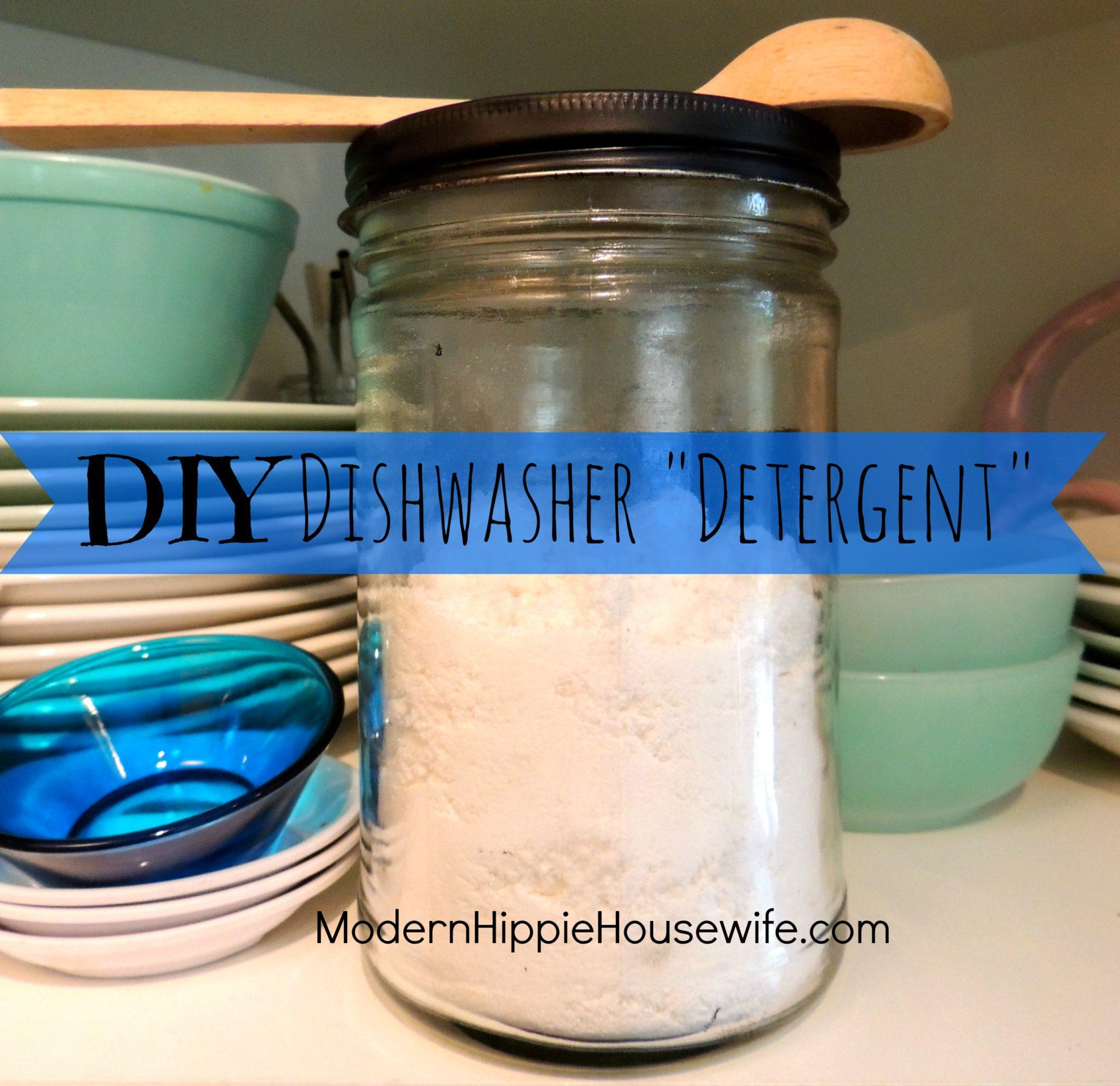 how to make homemade dish detergent