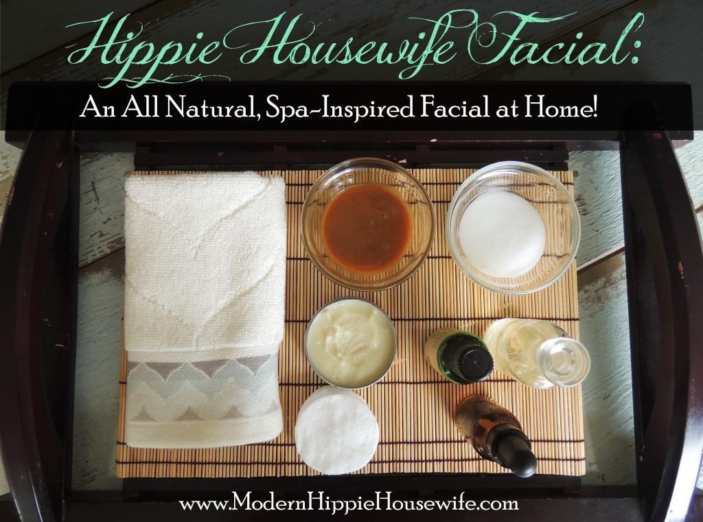 Hippie Housewife Facial