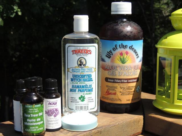 Bug Spray Ingredients