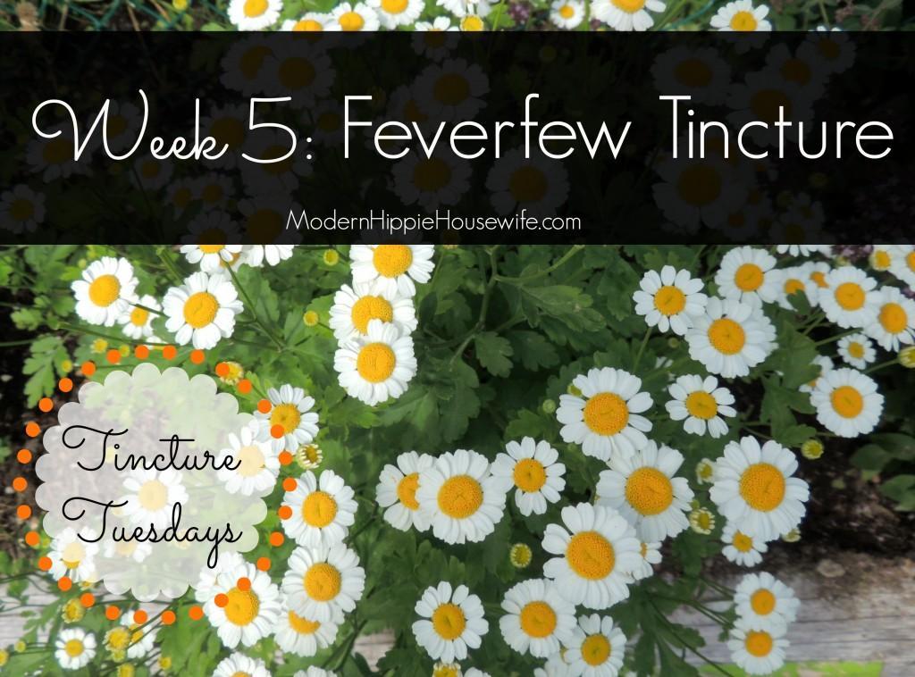 Feverfew Tincture