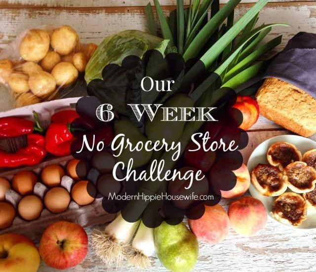 Our 6 Week No Grocery Store Challenge