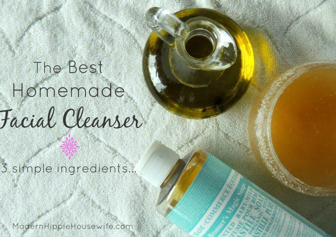 Homemade Facial Cleanser for Acne Prone Skin