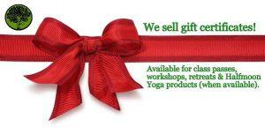 Blissful Yoga Gift Certificates Available