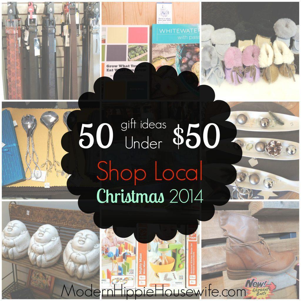 50 under $50 Shop Local
