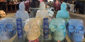 Pastel Skulls & Buddha and Wish Lanterns