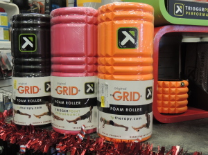 Foam Roller - necessary for the athlete in your family.
