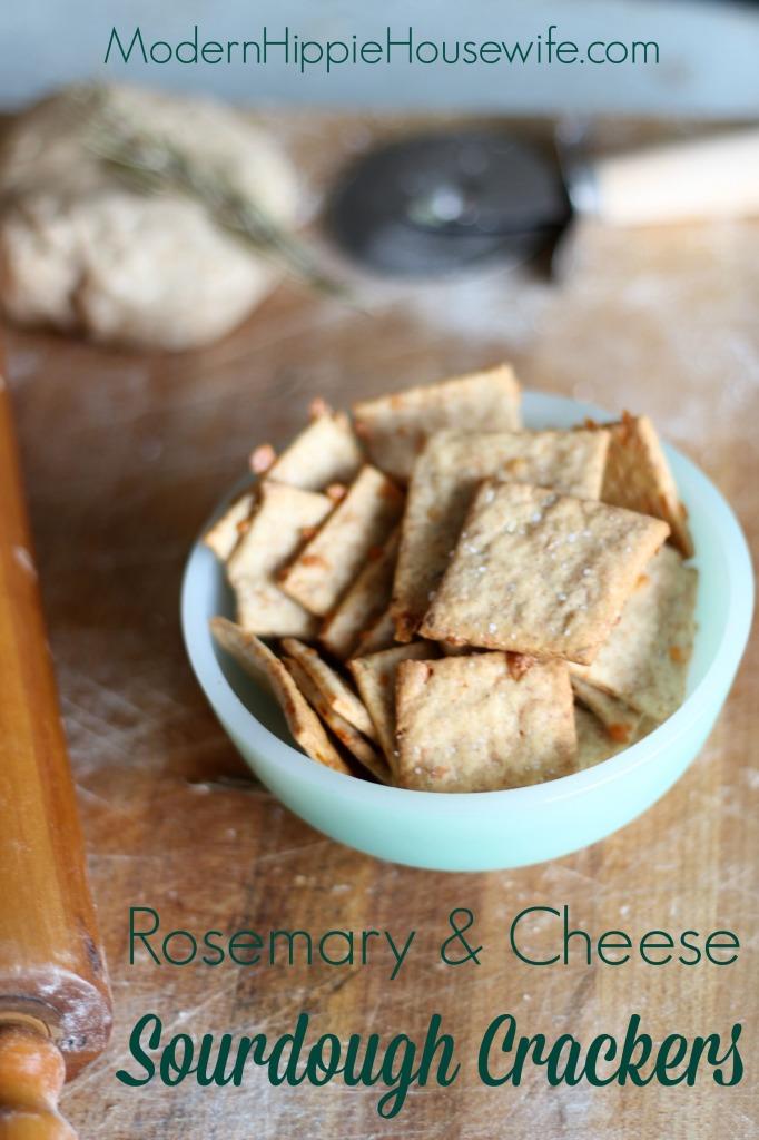 Sourdough Crackers - Pinterest