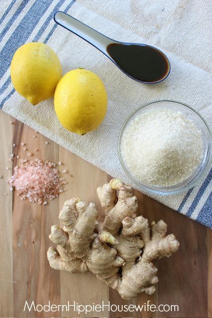 Ginger Beer Ingredients