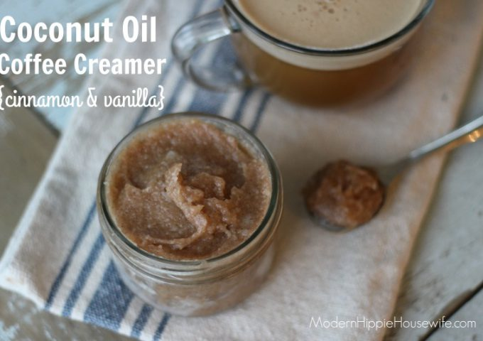 Coconut Oil Coffee Creamer