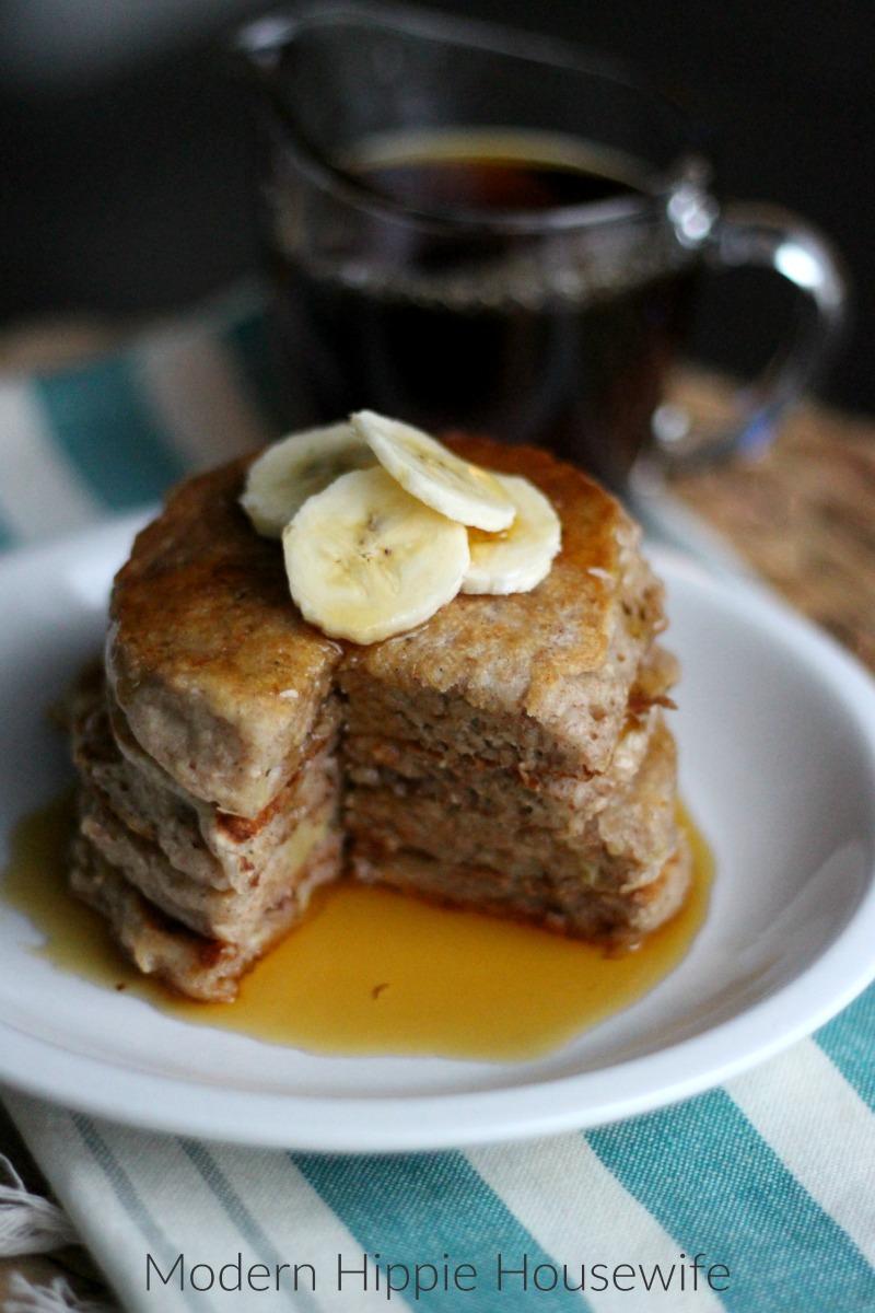 Ginger Bread Vegan Pancakes - 3