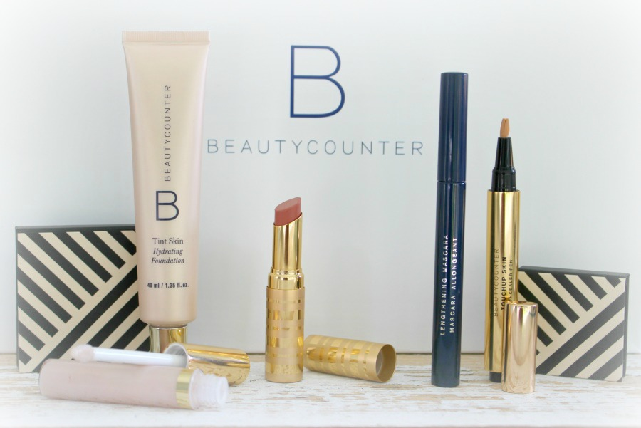 Beauty Counter Makeup with border