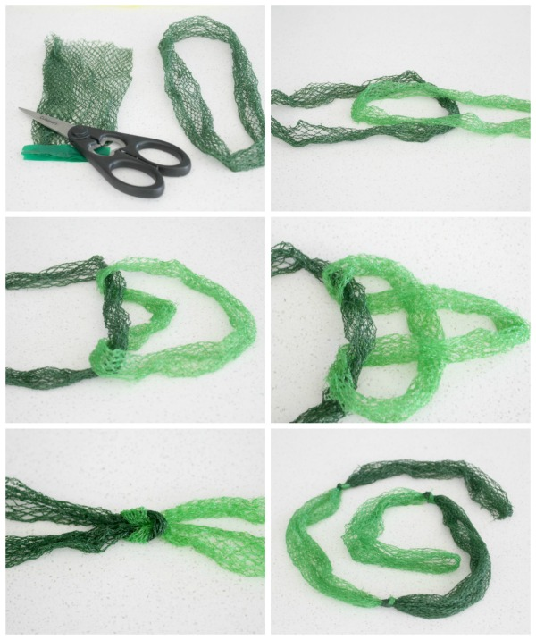 How to Make a Rope out of Old Mesh Produce Bags