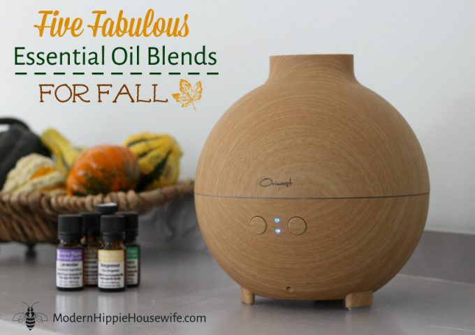 Essential Oil Blends for Fall