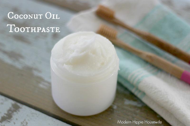 homemade coconut oil toothpaste modern hippie health wellness