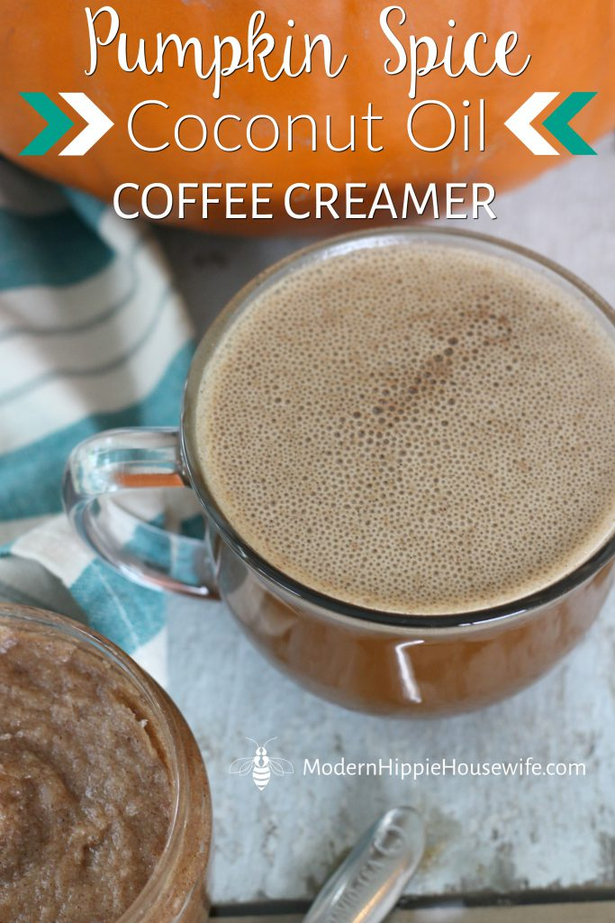 Pumpkin Spice Coconut Oil Coffee Creamer