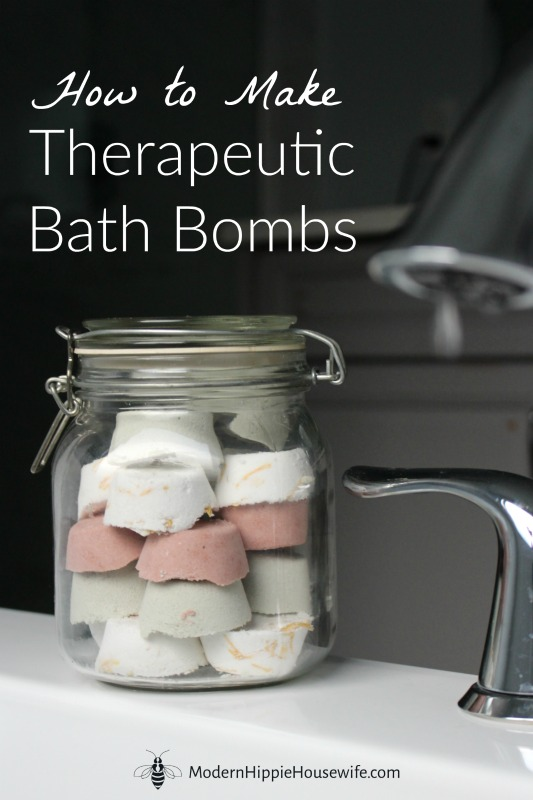 DIY Therapeutic Bath Bombs