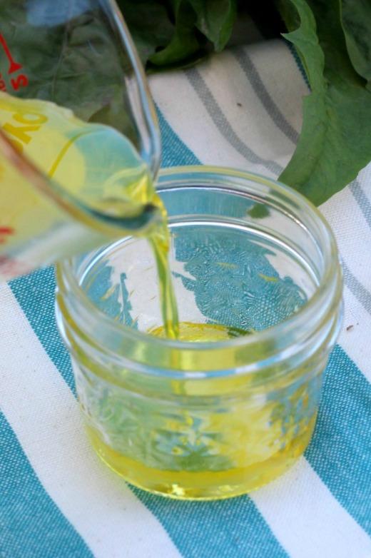 Dandelion Gardening Slave Recipe