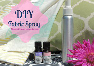 DIY Fabric & Deodorizing Room Spray