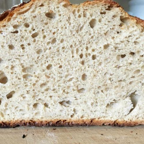 Spelt Flour No Knead Bread 2